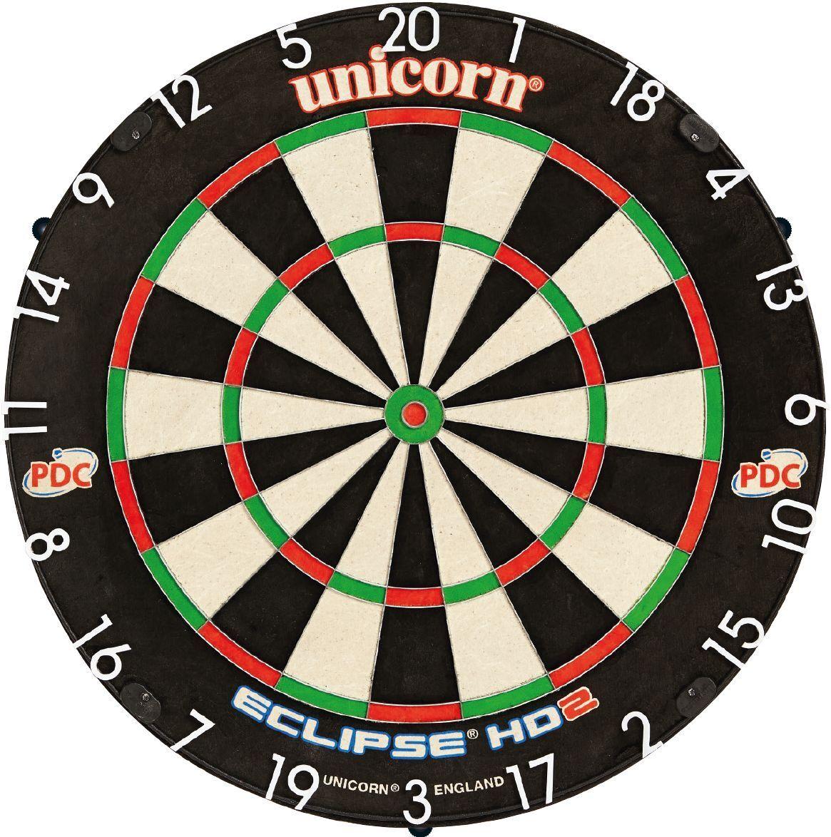 UNICORN UNICORN UNICORN Bristle Dart Board Dartboard Eclipse Pro HD2 Pro Dartscheibe Sisal 79890 231cfe