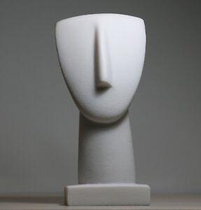 Details About Head Of Cycladic Figurine Idol Greek Modern Art Statue Sculpture Museum 6 9 In