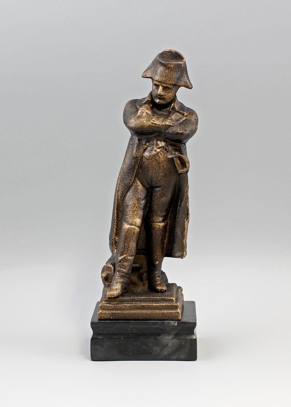 9973099-ds escultura de hierro personaje Napoleón grob fundido h31cm