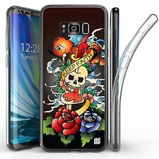 For Samsung Galaxy S8 Plus,Tri Max Transparent Full Body Case Cover KEEP FAITH