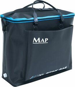 MAP-XXL-Fishing-EVA-Hard-Material-Stink-Bag-Landing-Net-Keepnet-or-Bait-Bag