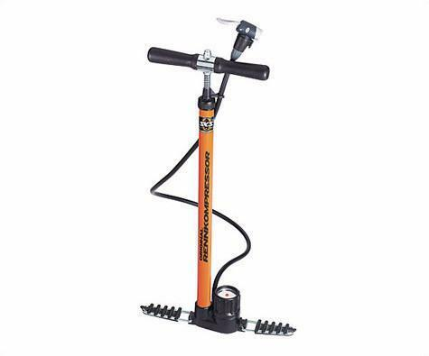 Sks Rennkompressor Floor Pump orange Presta And Schrader Bike