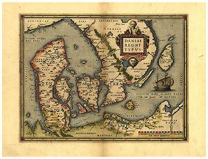 Denmark-Hovedstaden-Midtjylland-Syddanmark-Scandinavia-map-Ortelius-ca-1570