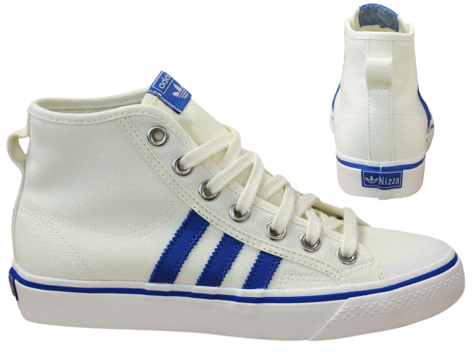 Adidas Originals Nizza Hi Mens Womens Trainers Lace Up shoes Cream BZ0543 D82