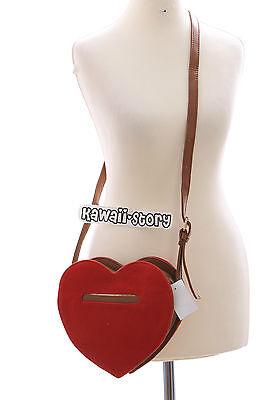 LB-37 rot red Herz Heart Gothic Lolita süß Bag Japan Harajuku Umhänge-Tasche