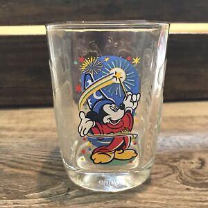 McDonald's Walt Disney World Celebration 2000 Glass Mickey Mouse Epcot
