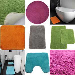 Tapis de Bain pour les Toilettes Accessoire Salle / Douche Mat | eBay