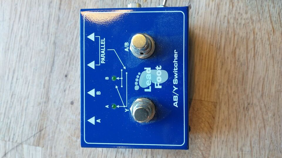 ABY switch, Andet mærke Foot lead ab/y switcher