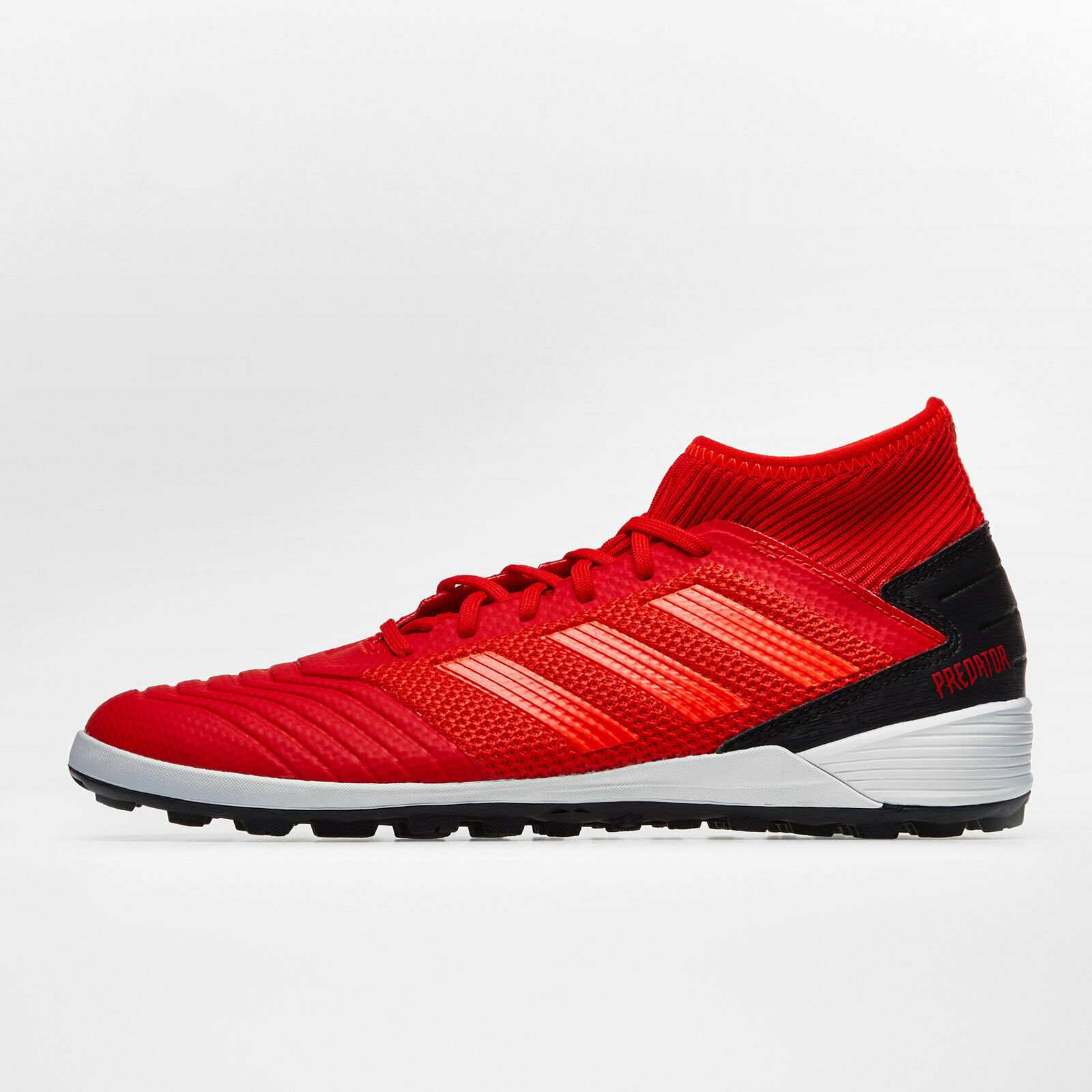 Adidas Mens Predator 19.3 Turf Football Boots Studs Trainers Sports shoes Red