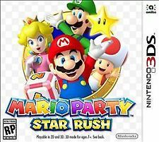 Mario Party: Star Rush (Nintendo 3DS, 2016) NEW FACTORY SEALED