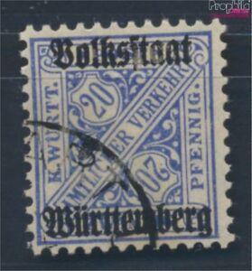 Wurttemberg-d264d-examinado-Devaluacion-Favor-usado-1919-digitos-en-sena-7693561