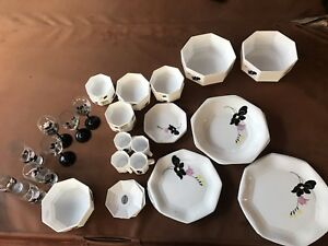 Image is loading arcopal-france-dinnerware-set-40-piece & arcopal france dinnerware set 40 piece | eBay