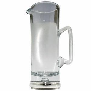 BROADWAY-amp-Co-Silver-amp-Crystal-WATER-JUG-10-1-4-034