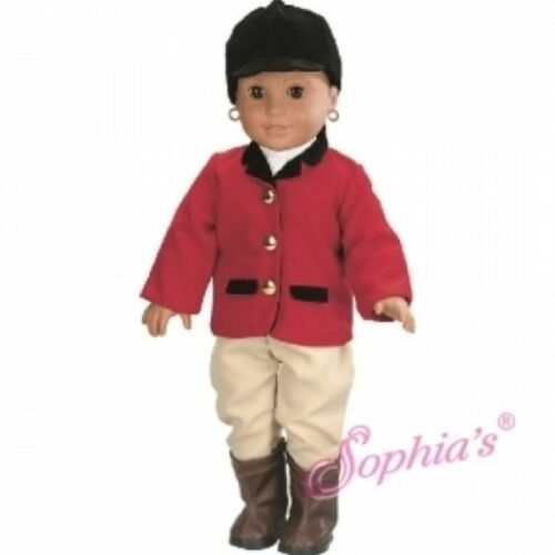 "Doll Clothes 18/"" Red Riding Outfit Sophia Fits American Girl Dolls"