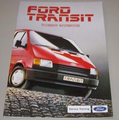 Costante Informazione Tecnica Ford Transit 4. Generazione Stand Ottobre 1985-