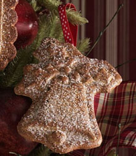 """NEW 5 inch Gingerbread /""""cookie /""""with Sugar Bell Ornament"""