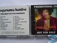 JIMI HENDRIX EXPERIENCE - THE BEST OF promo CD ALBUM