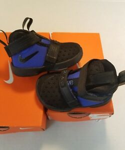 11464f87defc ireland image is loading nike lebron soldier 10 td toddler shoes black  6dbdd ef341