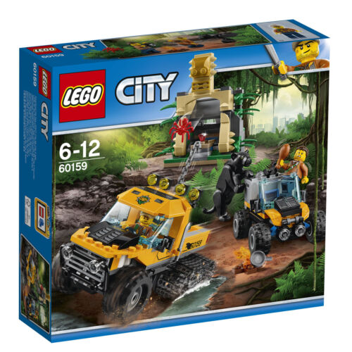 New in Box Sealed 60159 LEGO City Jungle Halftrack Mission 2017
