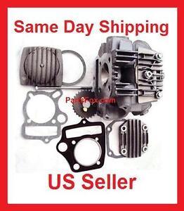 Details about 110cc engine parts cylinder head w/Gasket Peace Taotao JCL  KinRoad Roketa Kazuma