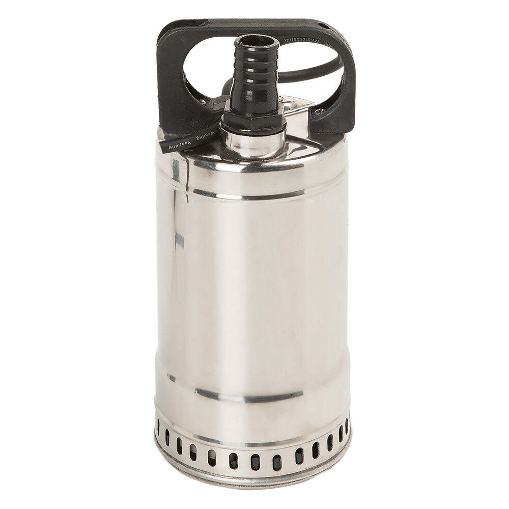 Alta presión de acero inoxidable sumergible pozos de agua bomba bomba de jardín bomba estanque swq