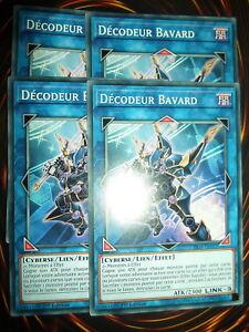 YU-GI-OH-COM-DECODEUR-BAVARD-YS18-FR043-PLAYSET-LOT-DE-4-NEUF-FRANCAIS-ED-1