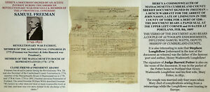 REVOLUTIONARY-WAR-PATRIOT-1st-PR-CONGRESS-PRESIDENT-ADAMS-FRIEND-DOCUMENT-SIGNED
