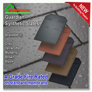Guardian Synthetic Lightweight Roof Slate Conservatory Porch Shed Garage Ebay