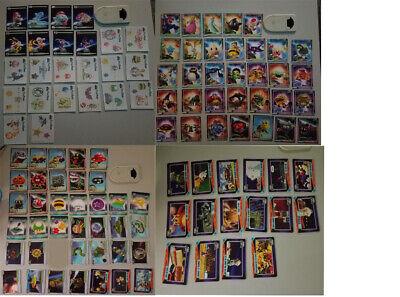 100% Waar Super Mario Galaxy 110 Cards - No Duplicates 16 Fun Tats, 8 Pop Up, 86 Reg Cards Zonder Terugkeer