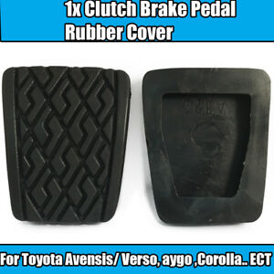 1x Rubber Cover Panel For Toyota Avensis Corolla Clutch Brake Pedal