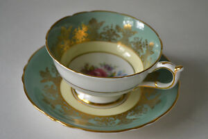 VINTAGE-PARAGON-BONE-CHINA-TEA-CUP-WITH-SAUCER