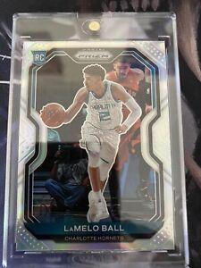 2020-21 Panini Prizm Lamelo Ball Rookie Silver Holo Charlotte Hornets 🥈🥈🔥🔥🔥