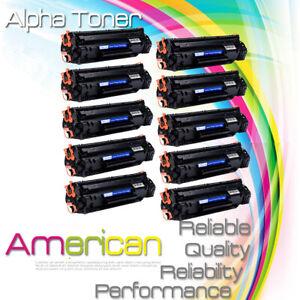 10 PK 125 Toner Cartridge for Canon ImageClass LBP6000 LBP6030w MF3010 Printer