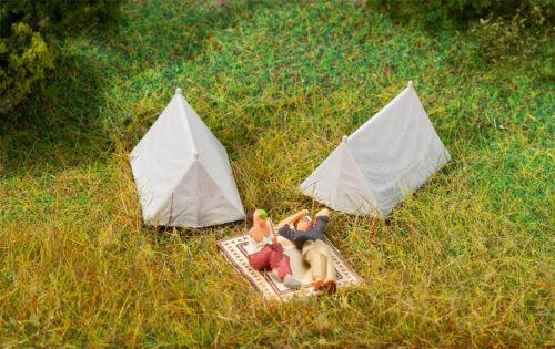 Faller 180987 4 tentes NOUVEAU /& NEUF dans sa boîte