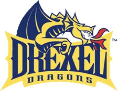 Drexel Dragons #2 NCAA College Vinyl Decal Sticker Car Window Wall