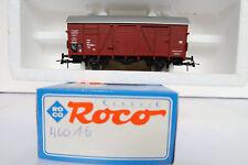 Roco HO/DC 46016 Gedeckter Güterwagen 113 826-7 DB (AA/590-7R8/1)