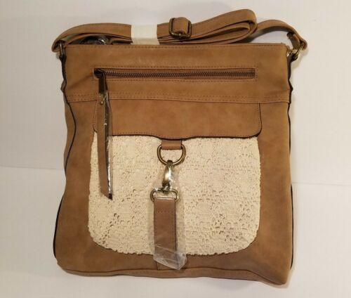 Ruffhewn Bag Women Color Brown body Cross Light CBoedxr