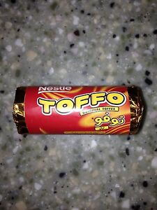 Toffo by Nestle Toffee Sweets Nostalgic Sweets 4 Packs Of 4 Sweets BB4 Mar 2018 - Heysham, Lancashire, United Kingdom - Toffo by Nestle Toffee Sweets Nostalgic Sweets 4 Packs Of 4 Sweets BB4 Mar 2018 - Heysham, Lancashire, United Kingdom