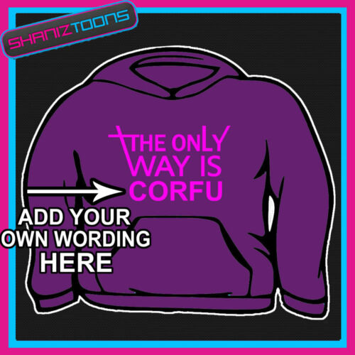 THE ONLY WAY IS PERSONALISED HEN PARTY TOWIE ESSEX  HOODIE ALL SIZES /& COLOURS