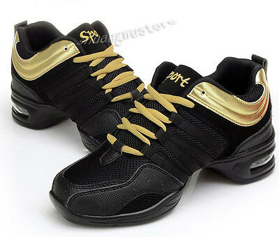 Comfy Modern Jazz Hip Hop Dancing Shoes Breathable Sneakers Athletic Shoes