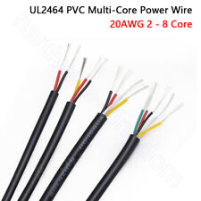 20 Awg Pvc Multi Core Power Wire Ul2464 Signal Control Cable 2345678 Cores