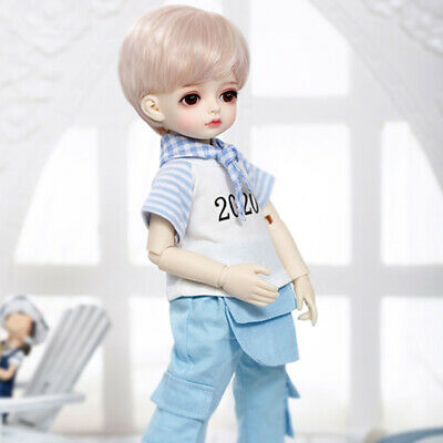 """Doe Suede Ethnic Body for 22-24/"""" Dolls Full Jointed Arms Full Jointed Legs #501E"""