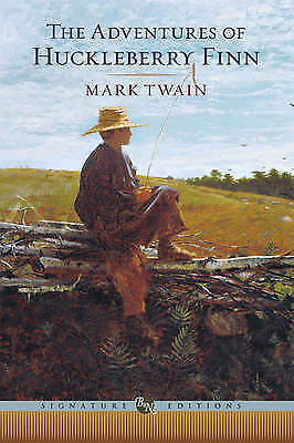 1 of 1 - Adventures of Huckleberry Finn by Mark Twain Hardcover Book (English)