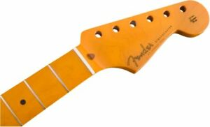 Genuine-Fender-Classic-Series-50s-Stratocaster-Strat-Lacquer-Neck-Soft-V-Maple