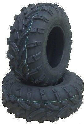 Set of 2 Premium WANDA ATV UTV tires 24x10-12 24x10x12 8PR