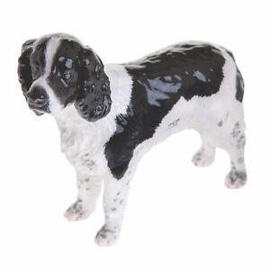 Beswick-English-Springer-Spaniel-Dog-Black-White-NEW-in-BOX-JBD80BW