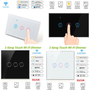 Details about EWelink WiFi Smart Touch Dimmer Switch APP Light Control for  Alexa Google Nes