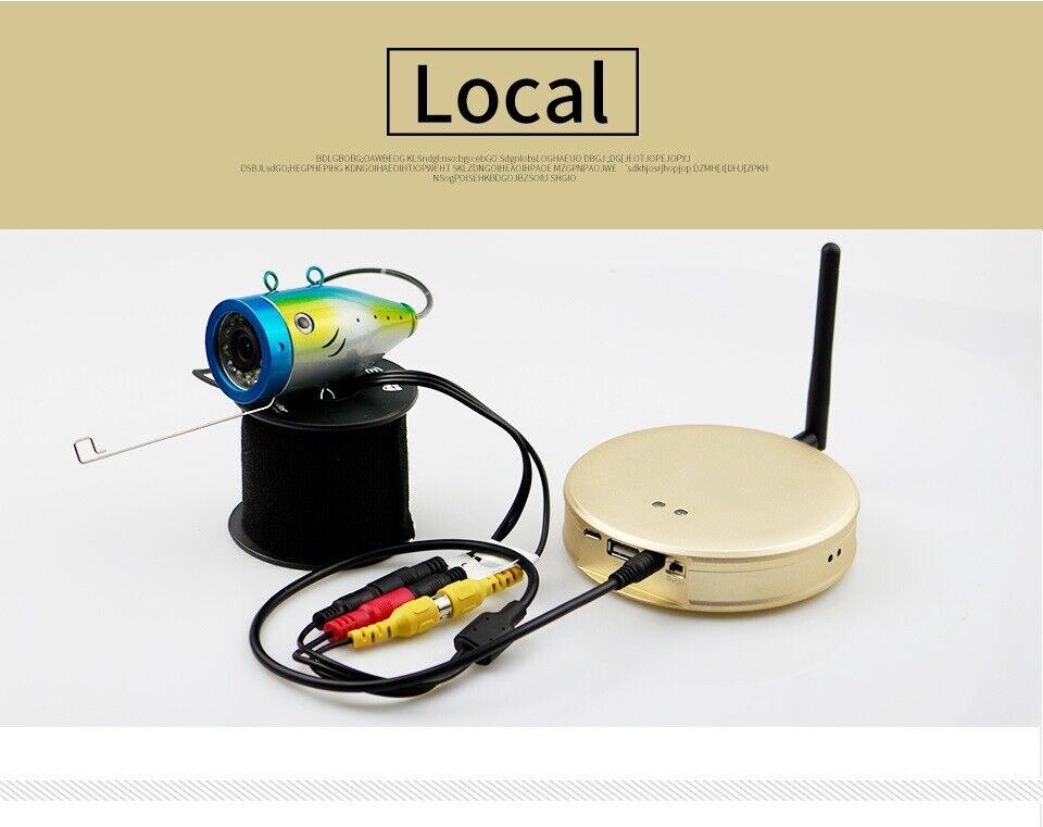 Hot WiFi Version Angelgerät Bericht Sichtsucher mit Kamera F8W