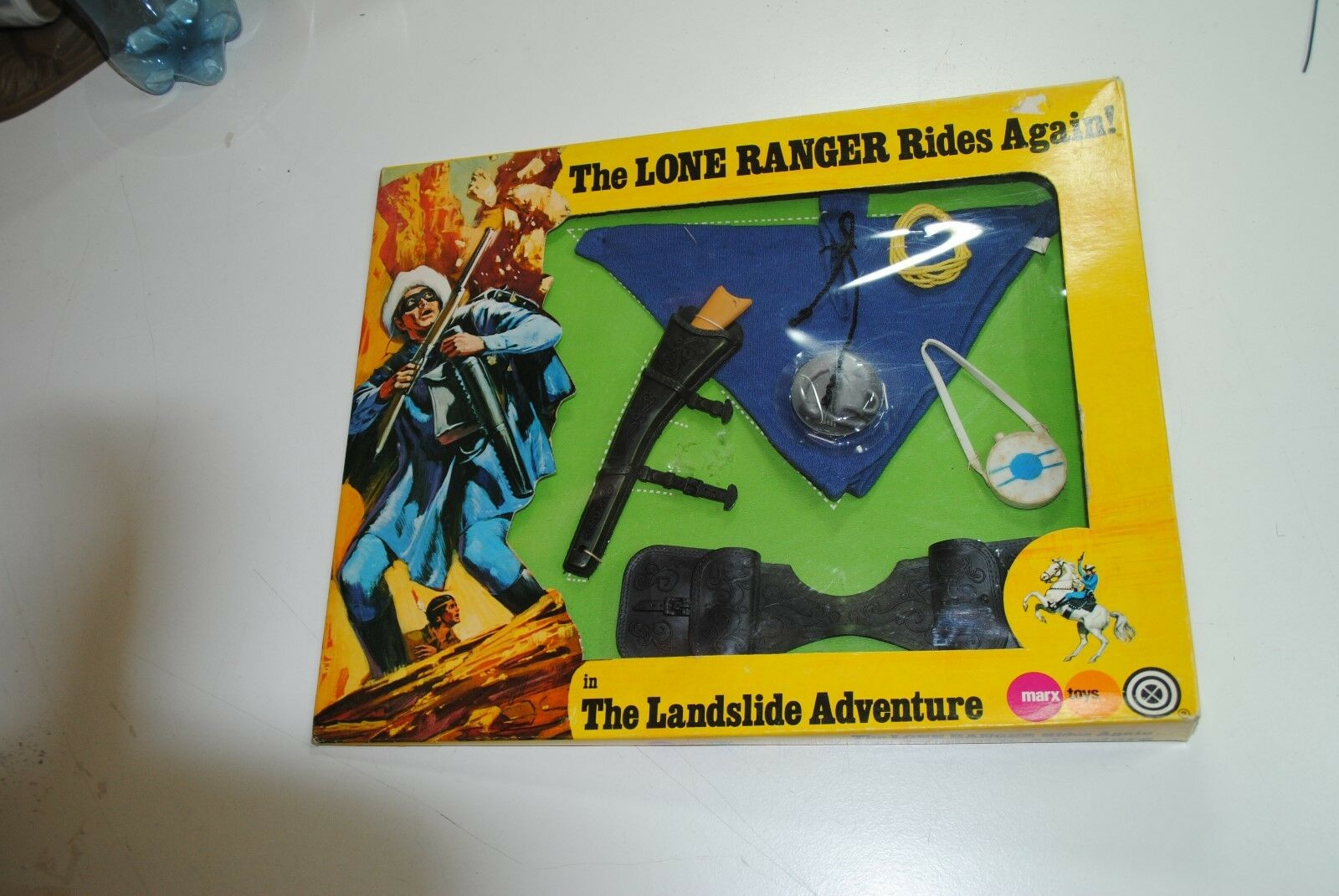 THE LONE RANGER RIDES AGAIN MARX GABRIEL  THE LANDSLIDE  ADVENTURE      mib