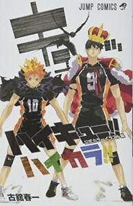 Haruichi-Furudate-Haikyuu-Haikyu-Official-Color-Art-Book-From-Japan-F-S